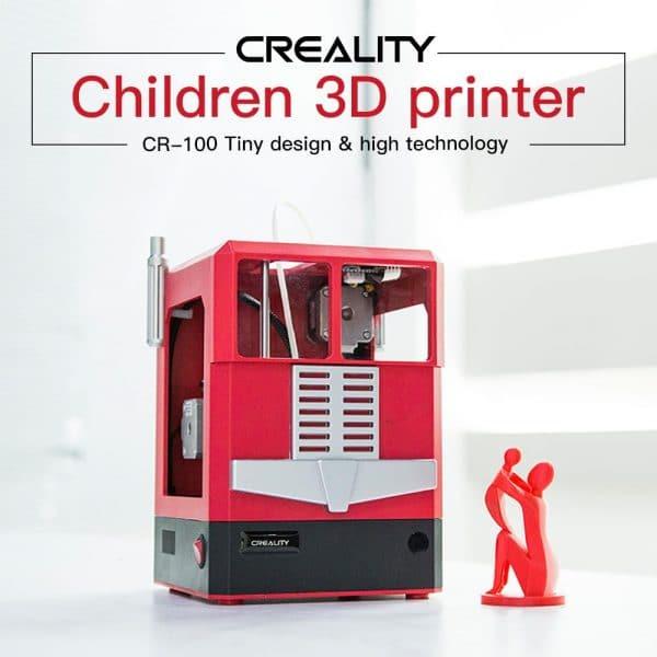 Creality3D CR-100 3D Printer 100x100x80mm Children Printer