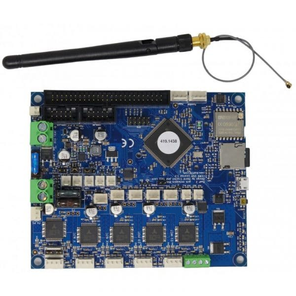 Genuine Duet 2 3d Wifi motherboard with external antenna