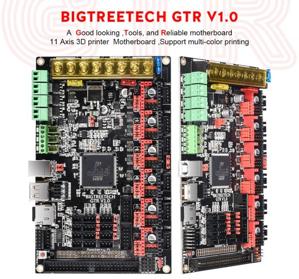 BIGTREETECH GTR V1.0 Control Board 32Bit Motherboard With M5 Expansion Board