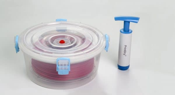 Printdry Vacuum Sealed Filament Container: Package of 5