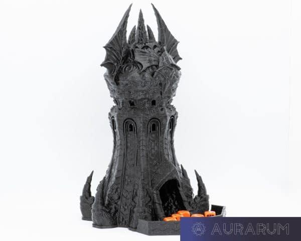 Aurarum PLA 3D Printer Filament - Celestial Black (Glitter) 1.75mm 1Kg