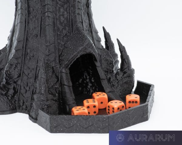 Aurarum PETG 3D Printer Filament - Celestial Black 1.75mm 1Kg