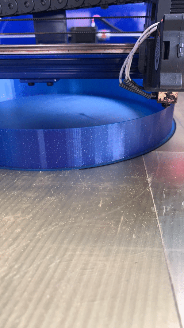 Aurarum PLA 3D Printer Filament - Celestial Blue (Glitter) 1.75mm 1Kg