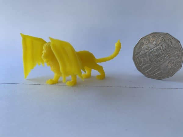 ABS Like 3D Printer Resin - Yellow 500G