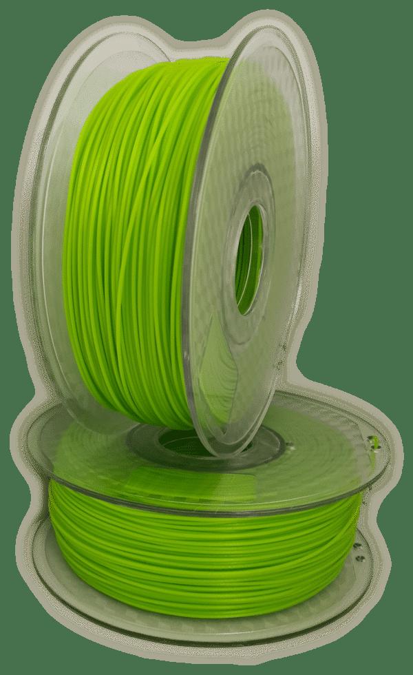 Aurarum PETG 3D Printer Filament - Lime green 1.75mm 1Kg