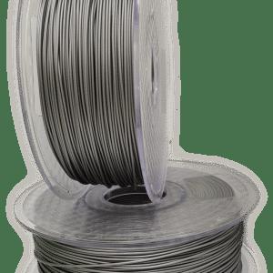 Aurarum PETG 3D Printer Filament – Silver Carbon Fibre 1.75mm 1Kg