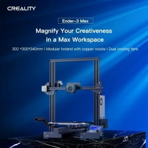 Creality3D Ender-3 Max 3D Printer (comes with 2 spools of Aurarum filament)