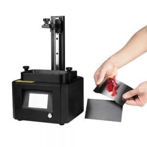 Flexible Steel Build For Resin 3D Printer (002) (2 Sets)