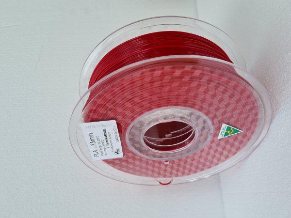 Aurarum PLA 3D Printer Filament - Maroon 1.75mm 1Kg