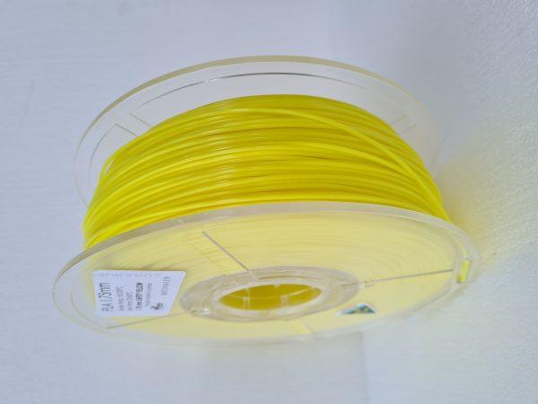 Aurarum PLA 3D Printer Filament - Safety Yellow 1.75mm 1Kg