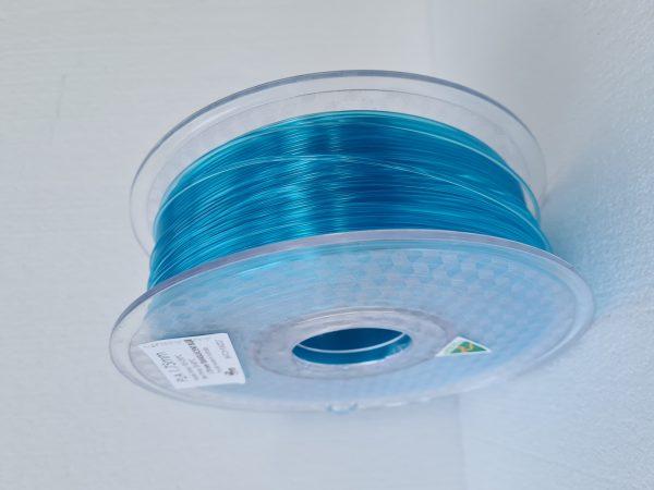 Aurarum PLA 3D Printer Filament - Transluscent Blue 1.75mm 1Kg